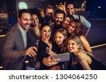 shot of a group of friends...   Shutterstock . vector #1304064250
