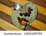 different tasty natural... | Shutterstock . vector #1304109559