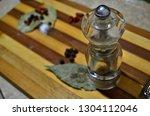tasty natural aromatic... | Shutterstock . vector #1304112046