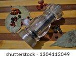 tasty natural aromatic... | Shutterstock . vector #1304112049