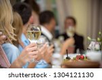 celebration. people holding... | Shutterstock . vector #1304121130