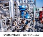 control valve for control flow...   Shutterstock . vector #1304140669