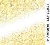 vector gold glitter confetti... | Shutterstock .eps vector #1304162596