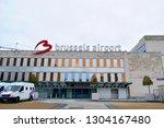 brussels  belgium   february 04 ...   Shutterstock . vector #1304167480