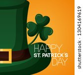 happy st patricks day | Shutterstock .eps vector #1304169619