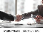 close up. the financial... | Shutterstock . vector #1304173123