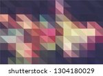 multicolor polygonal background. | Shutterstock .eps vector #1304180029