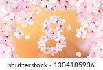 8 march international women's...   Shutterstock .eps vector #1304185936