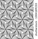vector seamless texture. modern ... | Shutterstock .eps vector #1304189233