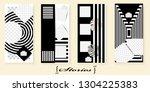 set of trendy templates for... | Shutterstock .eps vector #1304225383