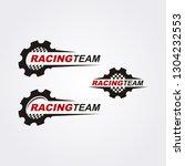 racing team logo collection   Shutterstock .eps vector #1304232553