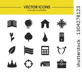 mixed icons set with home ...
