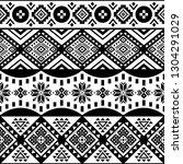 aztec seamless pattern  vector. ...   Shutterstock .eps vector #1304291029