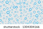 translucent bubbles or water... | Shutterstock .eps vector #1304304166