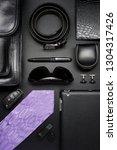 man accessories in business... | Shutterstock . vector #1304317426