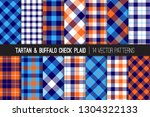 navy  blue  white and orange... | Shutterstock .eps vector #1304322133