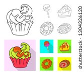 vector illustration of... | Shutterstock .eps vector #1304326120