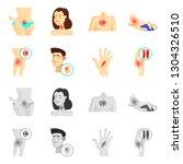 vector illustration of hospital ...   Shutterstock .eps vector #1304326510
