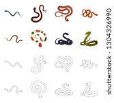 vector illustration of mammal...   Shutterstock .eps vector #1304326990