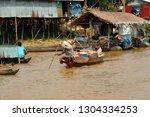 kompong kleang  cambodia   feb...   Shutterstock . vector #1304334253