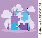 vector illustration. teamwork...