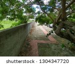 a tactile floor path for blind... | Shutterstock . vector #1304347720