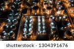 liquid chemical tank terminal ...   Shutterstock . vector #1304391676
