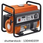 power generator | Shutterstock .eps vector #130440359