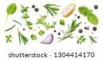 Different Spices And Herbs...