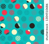 japanese style seamless pattern ... | Shutterstock .eps vector #1304510686