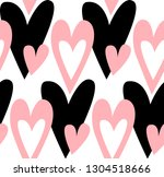 abstract seamless pattern with... | Shutterstock .eps vector #1304518666
