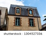 old houses in historic centre... | Shutterstock . vector #1304527336
