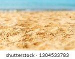 sandy tropical beach | Shutterstock . vector #1304533783