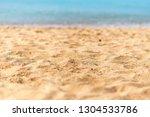 sandy tropical beach | Shutterstock . vector #1304533786