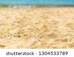 sandy tropical beach | Shutterstock . vector #1304533789