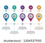 modern business horizontal...   Shutterstock .eps vector #1304537950