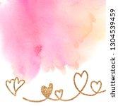 valentines day background... | Shutterstock .eps vector #1304539459