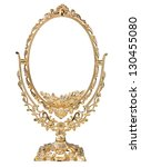 Antique Baroque Brass Gold...
