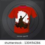 t shirt design. vector   Shutterstock .eps vector #130456286