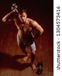 reaching your fitness goals.... | Shutterstock . vector #1304573416