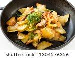 tasty unhealthy food. fried...   Shutterstock . vector #1304576356
