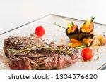 chef main course. cooking art....   Shutterstock . vector #1304576620