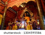 Buddha Statue In The Chapel Of...