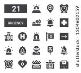 urgency icon set. collection of ... | Shutterstock .eps vector #1304602159