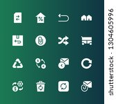refresh icon set. collection of ... | Shutterstock .eps vector #1304605996
