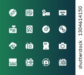 Compact Icon Set. Collection O...