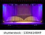 theatrical scene without actors ... | Shutterstock . vector #1304614849