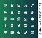 household icon set. collection... | Shutterstock .eps vector #1304615113