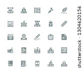 learn icon set. collection of...   Shutterstock .eps vector #1304620156