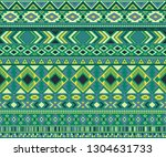 navajo american indian pattern... | Shutterstock .eps vector #1304631733